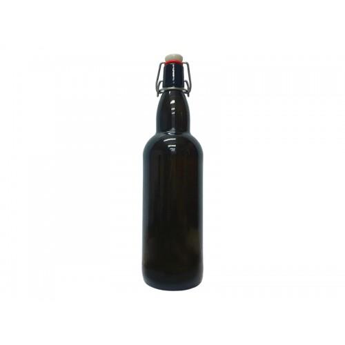 Бутылка пивная с бугельной пробкой, 1 л