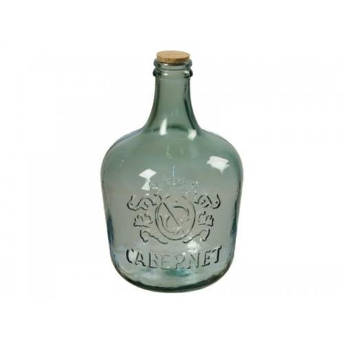 """Бутыль  """"GARRAFA CABERNET"""" 12 л. с пробкой"""