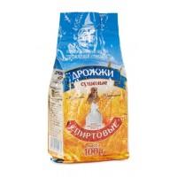 Спиртовые дрожжи «Дрожжевой комбинат», 100 г (Беларусь)