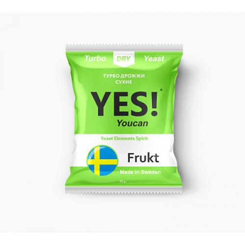 Турбо дрожжи YES! Frukt, 45 г