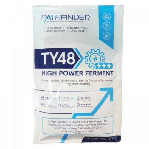 Спиртовые дрожжи PATHFINDER 48 Turbo high power ferment