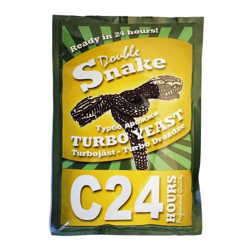 Спиртовые дрожжи DoubleSnakeC24 Turbo
