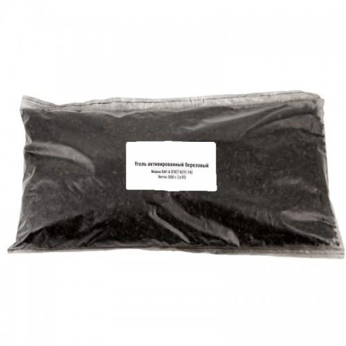 Уголь березовый активированный , 0.5 КГ