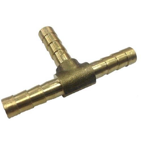 Тройник 10-10-10 мм, латунь