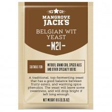 Дрожжи Mangrove jack's Belgian Wit M21