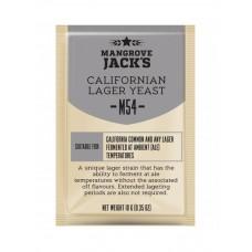Дрожжи Mangrove jack's Californian lager M54