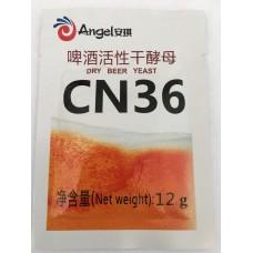 Дрожжи элевые Angel CN36, 12 г
