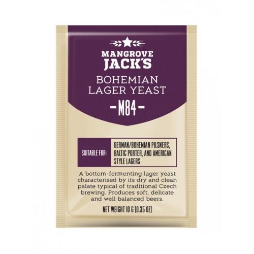 Дрожжи  Mangrove jack's Bohemia lager M84