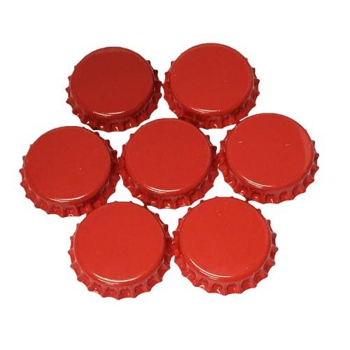 Кроненпробки Красные (Россия), 80 шт