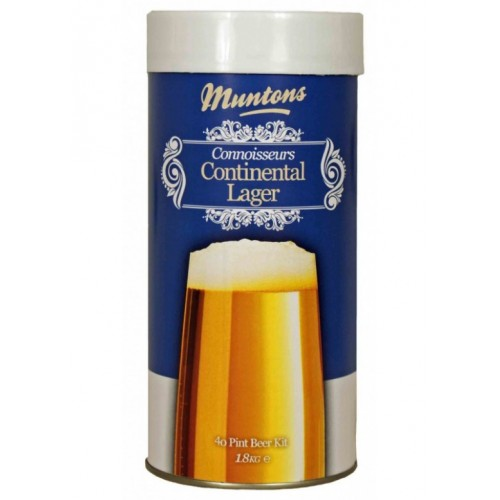 Muntons Continental Lager, 1,8 кг