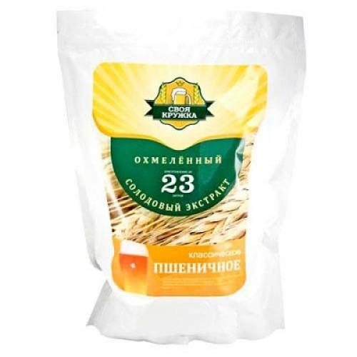 Солодовый экстракт «Своя кружка» Пшеничное классическое