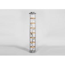Тарельчатая колонна D90 - Добрый Жар.7 палуб, 3 колпачка 2 дюйма