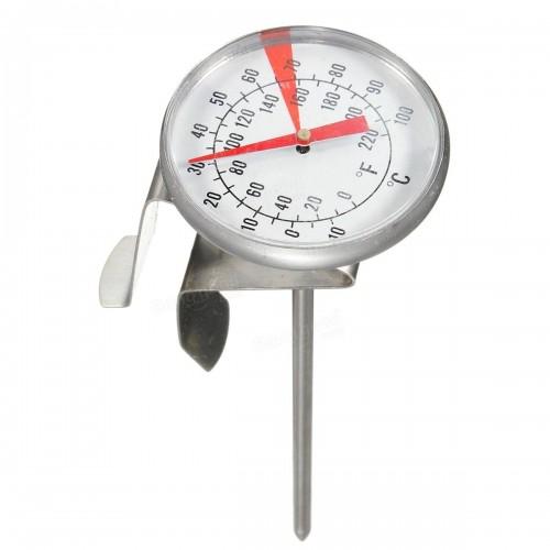 Термометр аналоговый 30см с клипсой 0..110 С
