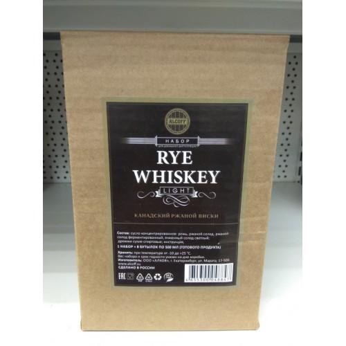 "Сусло Light  ""Rye whisky"" (Канадский ржаной виски)"